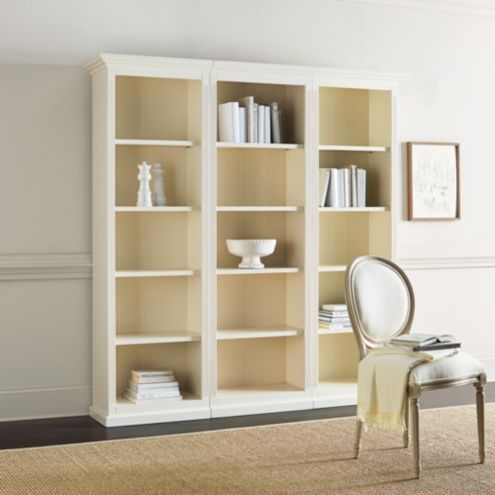 Tuscan 3-Piece Flush Bookcase Set