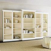 Tuscan 5-Piece Bookcase Set