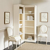 Tuscan Corner Bookcase