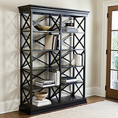 Bourdonnais Double Bookcase - Tall
