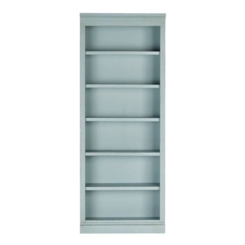 Casa Florentina Josephina Flush Bookcase with Shelves -