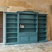 Casa Florentina Josephina Bonnet Top 3-Piece Large Center Wall Unit - Custom
