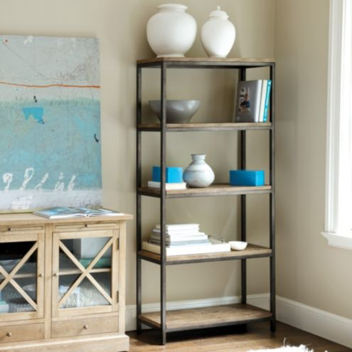 Durham Tall Bookcase Ballard Designs