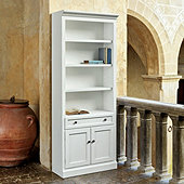 Casa Florentina Josephina Flush Bookcase with Door - Custom