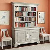 Bunny Williams Madeleine Console & Hutch