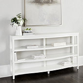 Morgan Demilune Bookcase