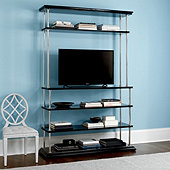 Miles Redd Low Bookcase with Media Hutch