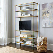 Suzanne Kasler Lydie Media Bookcase