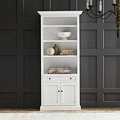 Casa Florentina Josephina Bookcase with Cabinet - Custom