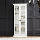 Casa Florentina Josephina Bookcase with Glass Doors