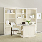 Tuscan Return Group with Shelves & Glass - Large