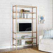 Suzanne Kasler Lydie Media Bookcase