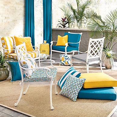 Outdoor Patio Furniture Accessories, How To Make Your Own Cushions For Outdoor Furniture