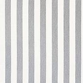 Canopy Stripe Granite/White Sunbrella Swatch