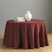 Suzanne Kasler Signature Plaid Tablecloth