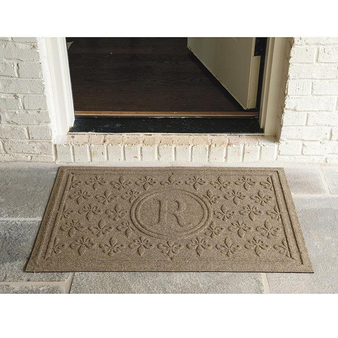 Fleur De Lis Doormat Personalized