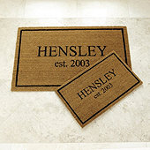 Personalized Estate Doormat