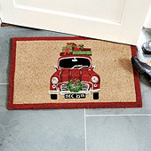 Holiday Car Coir Mat