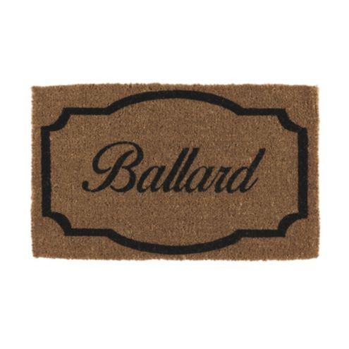Framed Personalized Coir Doormat