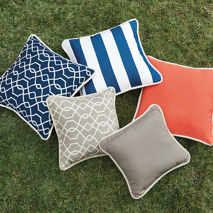 corded outdoor pillows ballard designs ballard designs