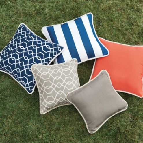 Corded Outdoor Pillows