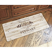 Personalized Wine Crate Comfort Mat