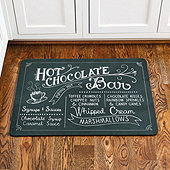 Hot Chocolate Comfort Mat