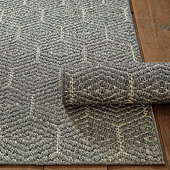 Honeycomb Sisal Rug - Small