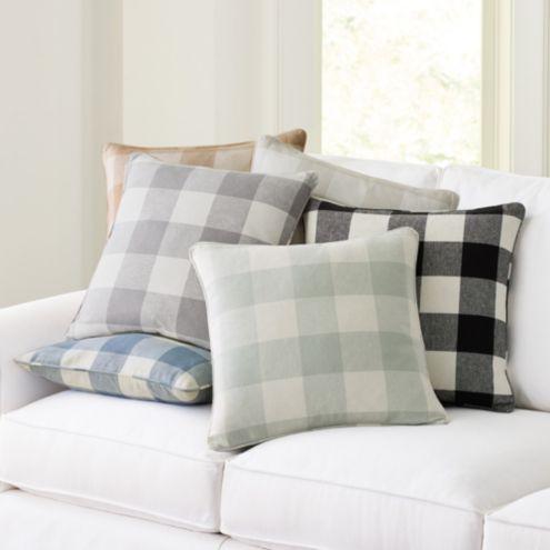 Buffalo Check Pillow Ballard Designs