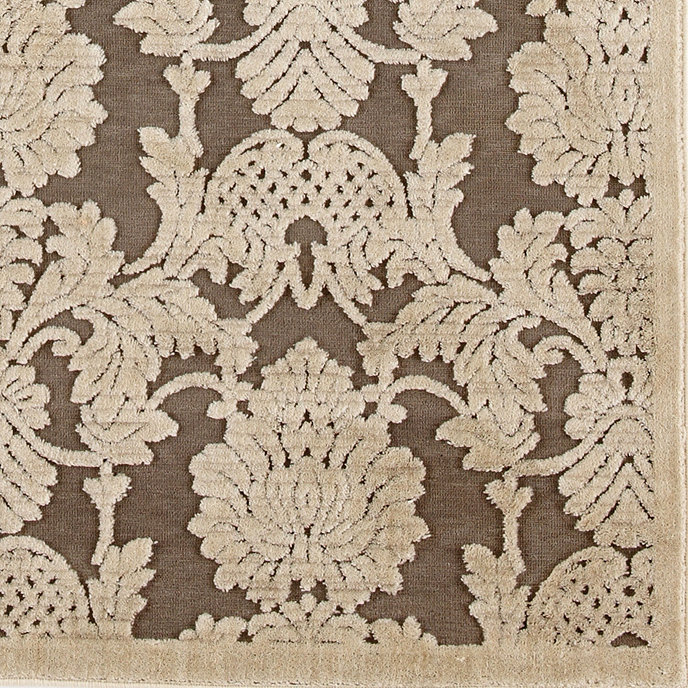 Crawley Rug - Nickel - Ballard Designs