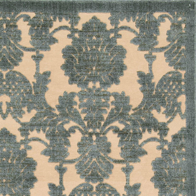 Crawley Rug - Teal - Ballard Designs