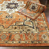 Kashan Hand Tufted Rug