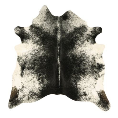 Natural Cowhide Rug - Salt and Pepper