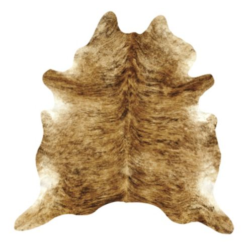 Natural Cowhide Rug - Medium Brindle