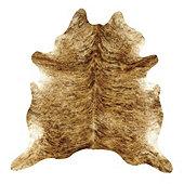 Natural Cowhide Rug - Medium Brindle