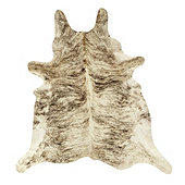Natural Cowhide Rug - Light Brindle
