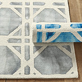 Mayla Dip Dyed Tufted Rug