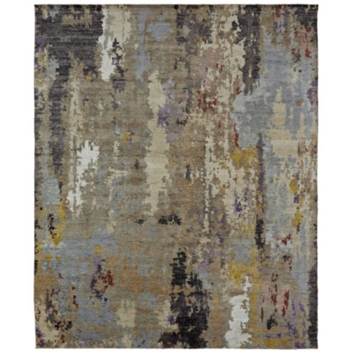 Ricci Contemporary Modern Hand Knotted Wool Area Rug