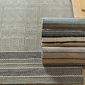 Chalet Border Performance Rug