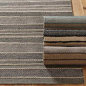 Chalet Wide Stripes Performance Rug