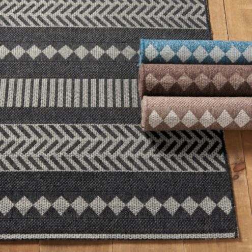 Cali Striped Indoor Outdoor Area Rug