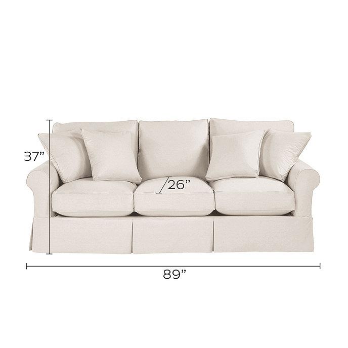 Baldwin Queen Sleeper Sofa Slipcover