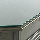 Grandezza Console Table Glass Topper