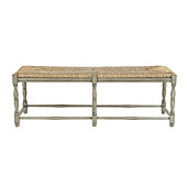 Dorchester 2-Seat Bench - Hickory Brown