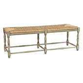 Dorchester 3-Seat Bench - Hickory Brown