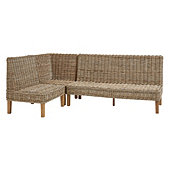 Rosalind 3-Piece Wicker Banquette Set - 30