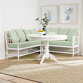 Joline 3-Piece Banquette with Seat & Back Pillow Cushions