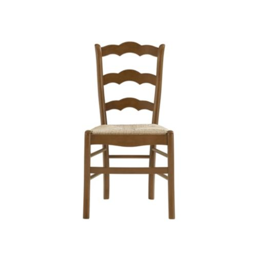 Casa Florentina Genoa Side Chairs Rush Seat Set