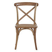 Constance Bentwood Side Chairs - Set of 2 Chestnut