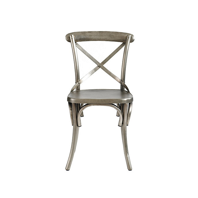 Set Of 2 Constance Metal Dining Chairs
